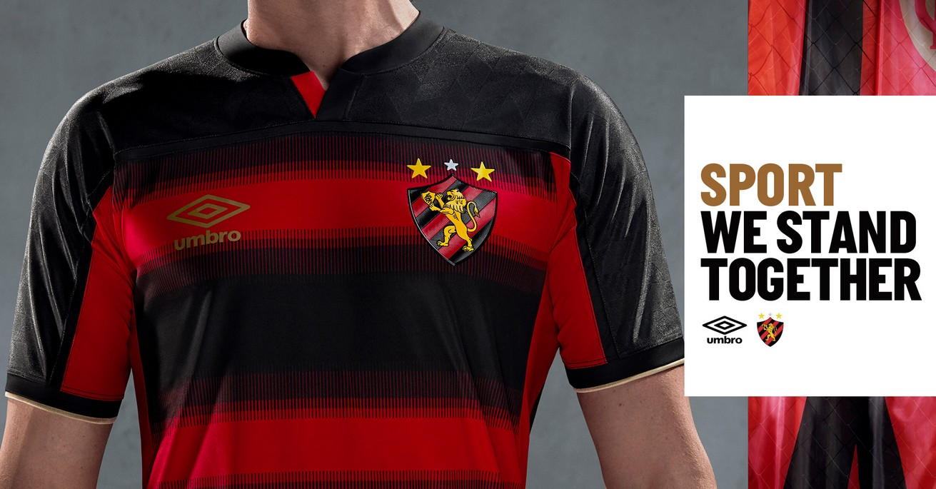Camiseta local del Sport Recife 2020/21 | Imagen Umbro