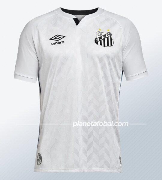Camiseta titular Umbro del Santos 2020/2021 | Imagen Web Oficial