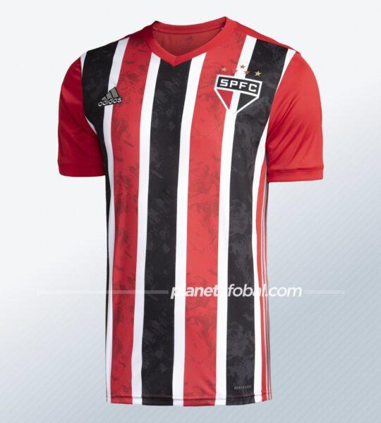 Camiseta suplente Adidas del São Paulo FC 2020/21 | Imagen Web Oficial