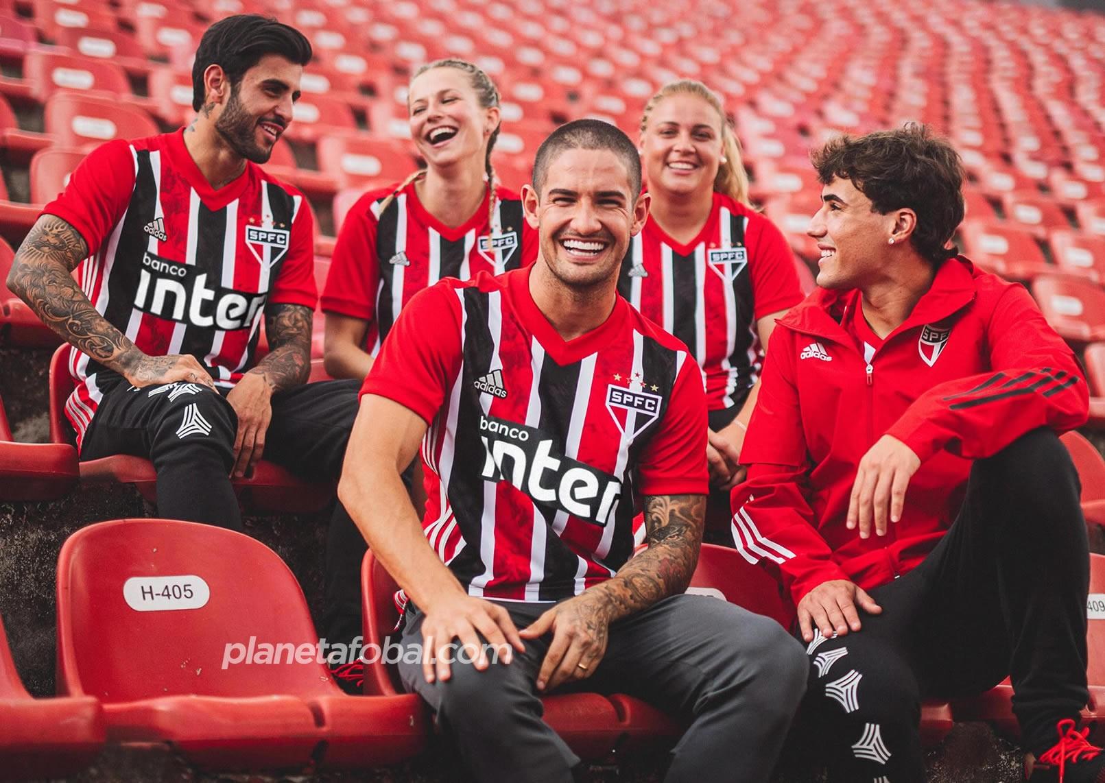 Camiseta suplente Adidas del São Paulo FC 2020/21 | Imagen Twitter Oficial