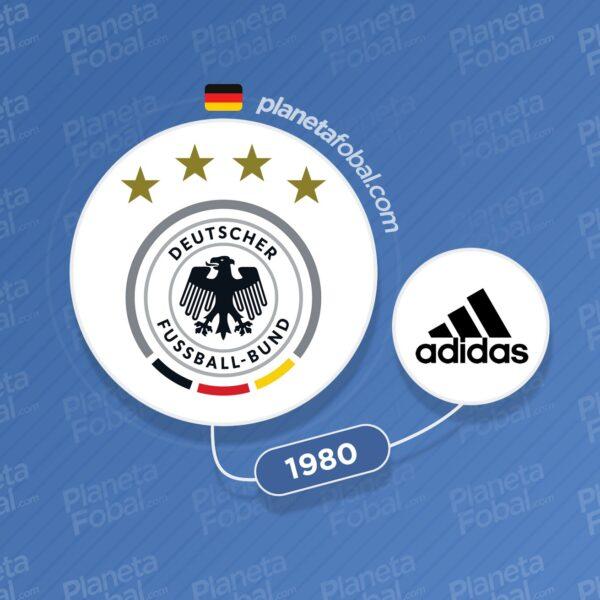 Alemania y Adidas desde 1980