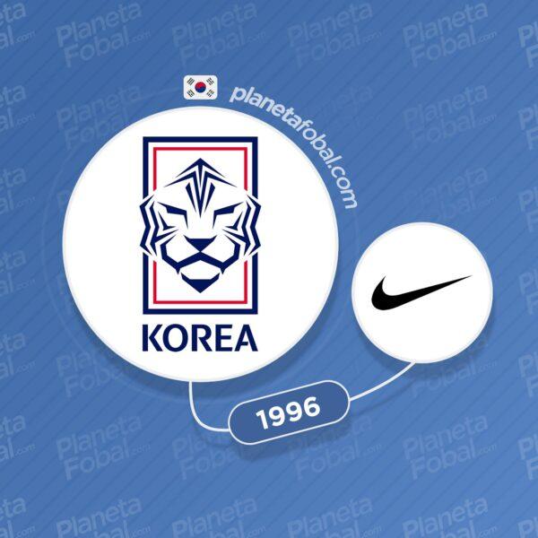 Corea del Sur y Nike desde 1996