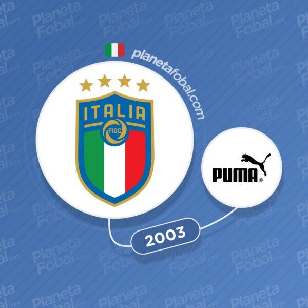 Italia y Puma desde 2003