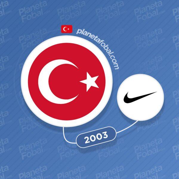 Turquía y Nike desde 2003
