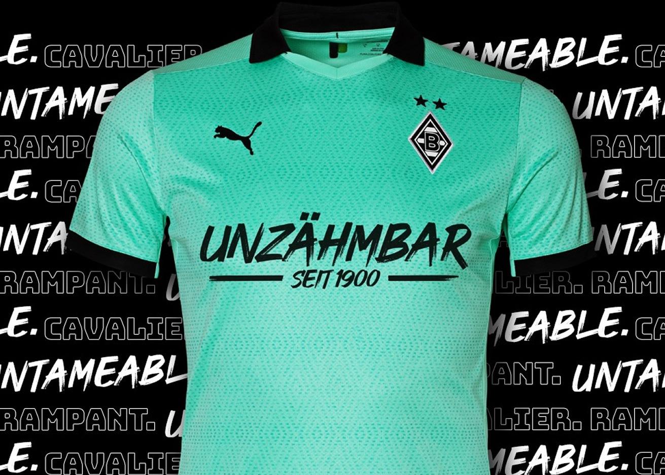 """Camiseta Puma del Borussia Mönchengladbach """"Unzähmbar""""   Imagen Web Oficial"""