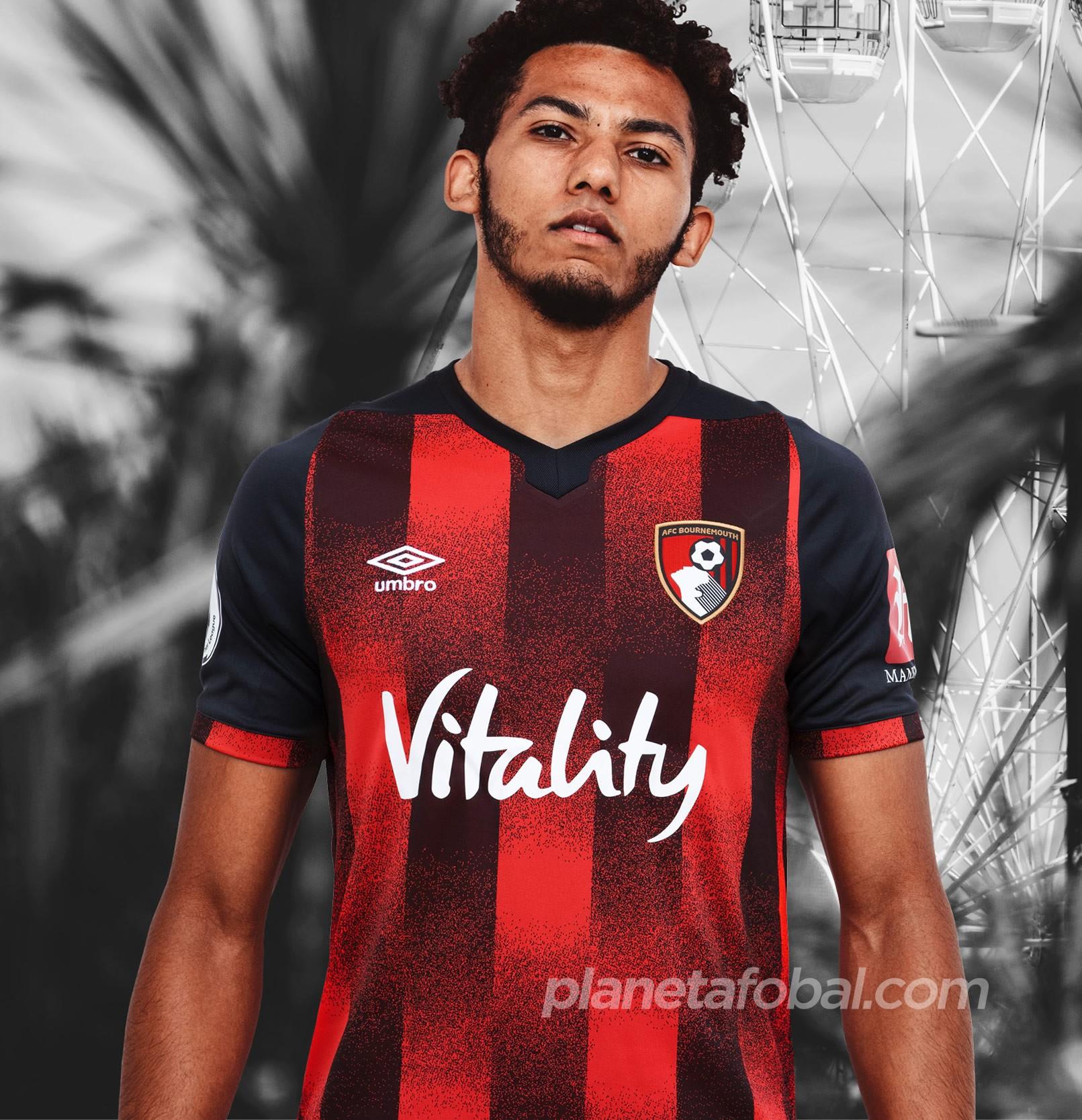 Camiseta Umbro del AFC Bournemouth 2020/21