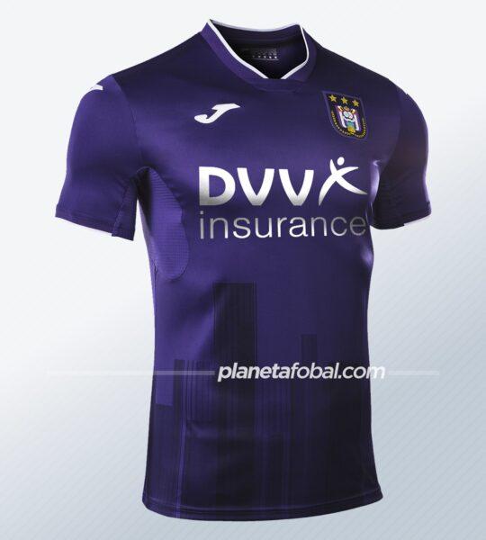 Camisetas Joma del Anderlecht 2020/21 | Imagen Web Oficial