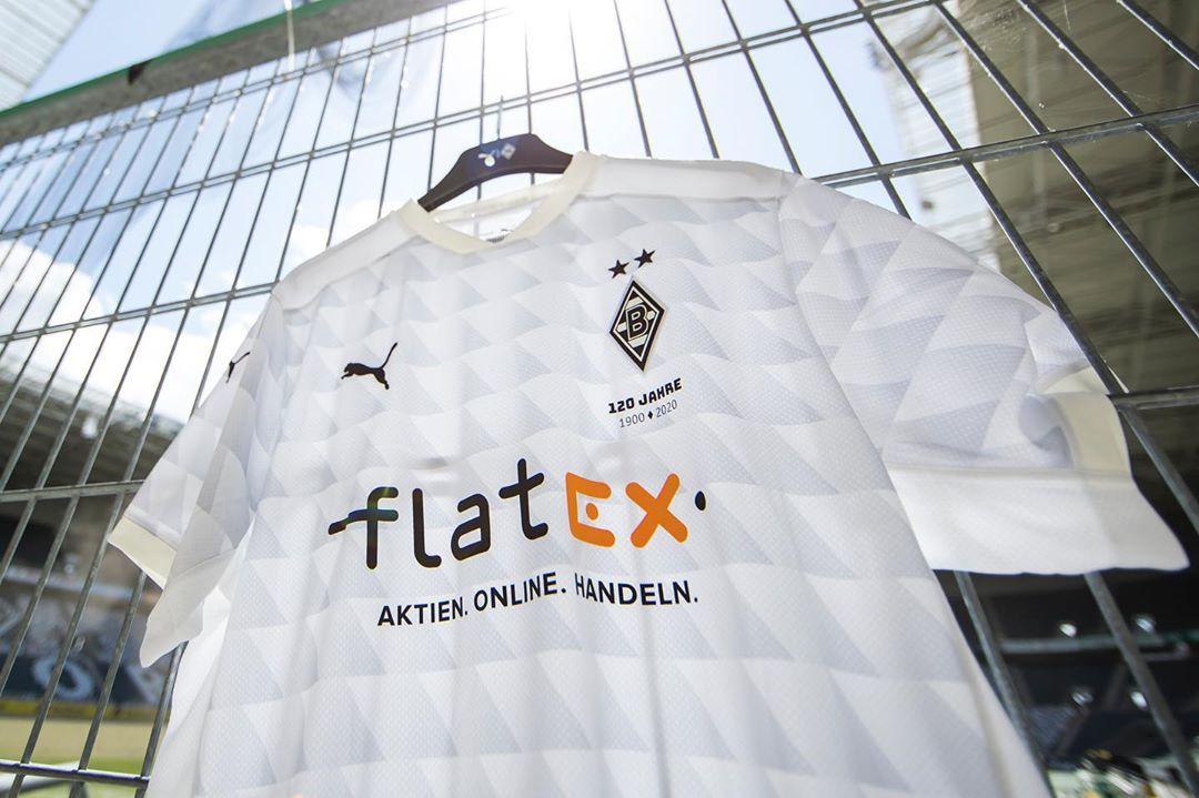 Camiseta Puma del Borussia Mönchengladbach 2020/21 | Imagen Twitter Oficial
