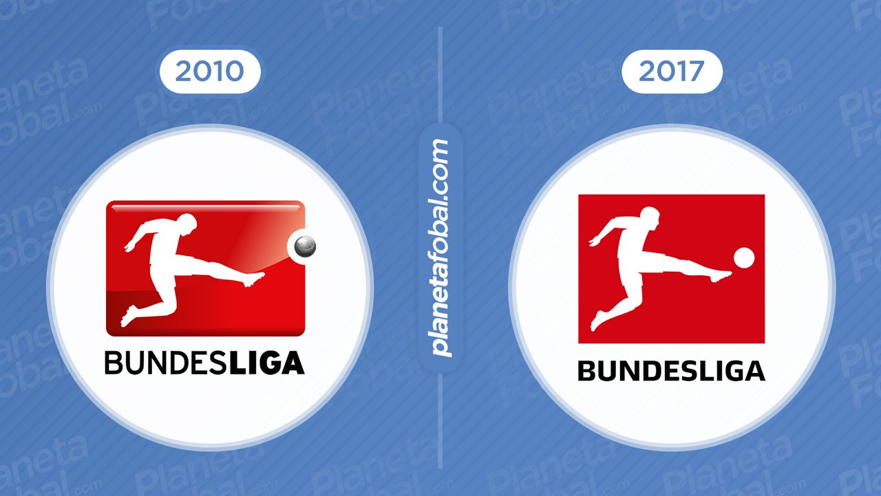 Antes y después Bundesliga de Alemania