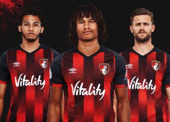Camiseta Umbro del AFC Bournemouth 2020/21