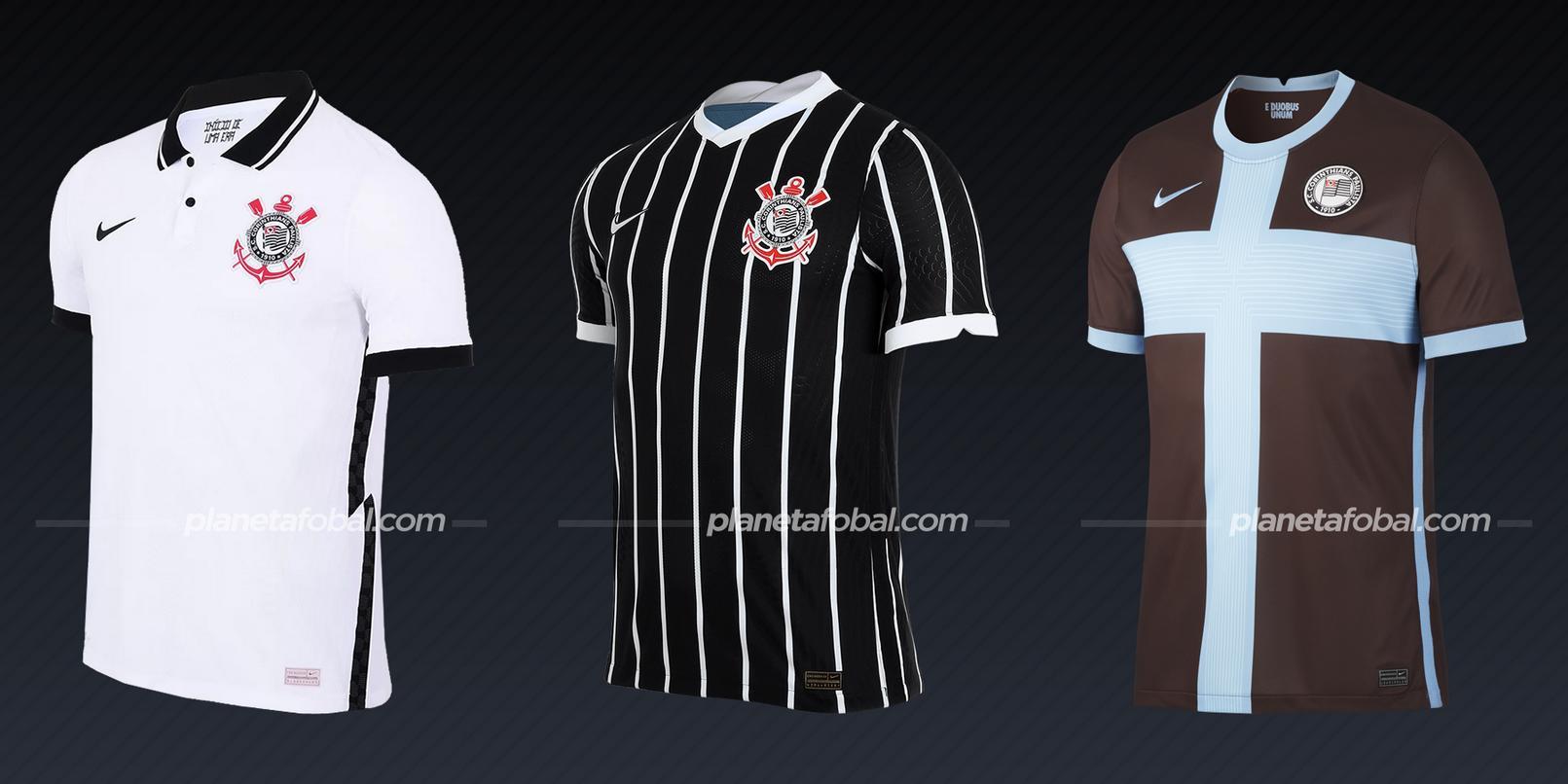 Corinthians (Nike) | Camisetas del Brasileirão 2020