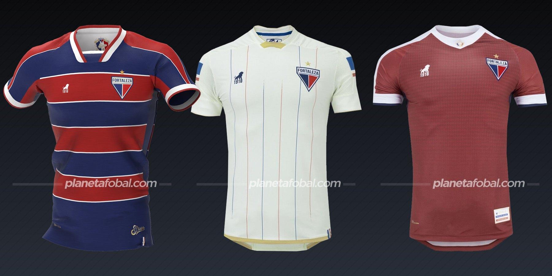 Fortaleza (Leão 1908) | Camisetas del Brasileirão 2020