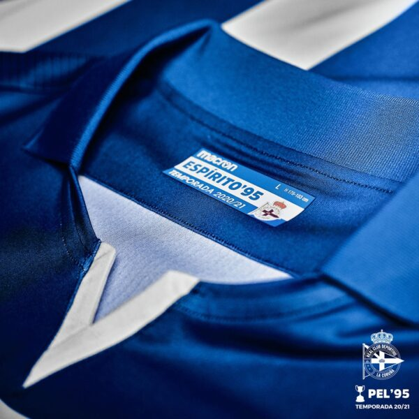 Camiseta Macron del Deportivo La Coruña 2020/21 | Imagen Twitter Oficial