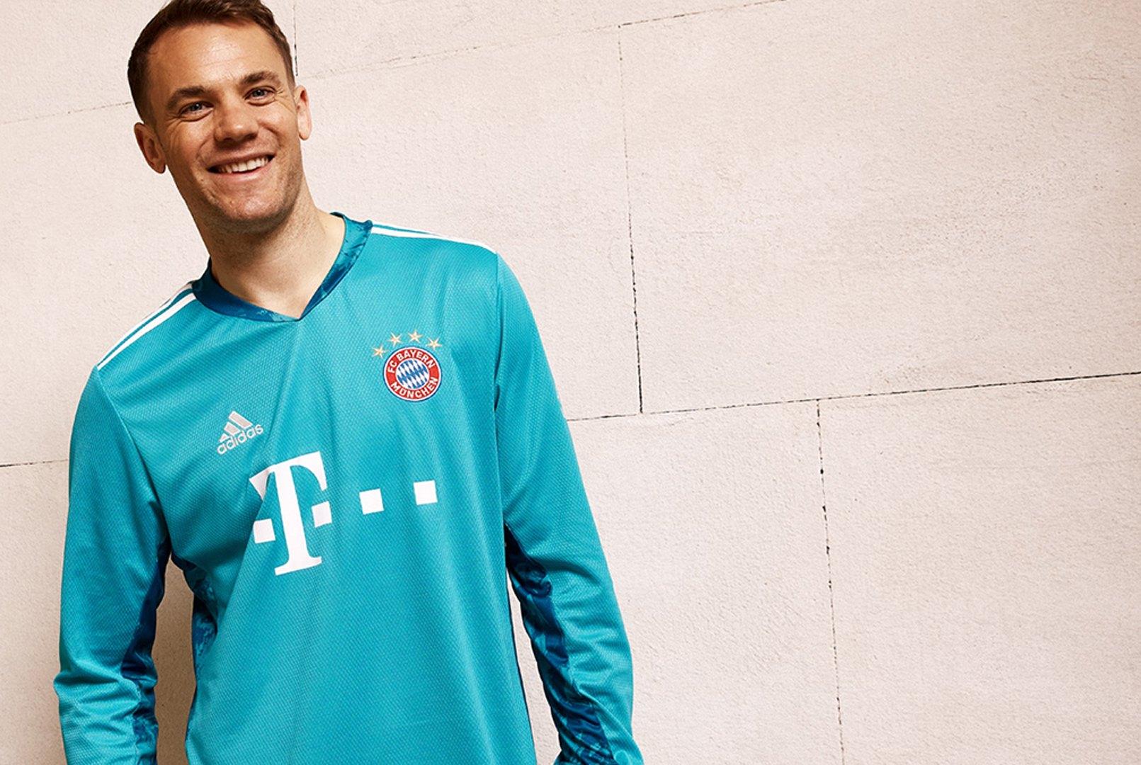 Camiseta titular (arquero) del Bayern Munich 2020/2021 | Imagen Adidas