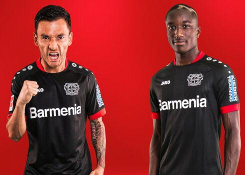 Camiseta Jako del Bayer 04 Leverkusen 2020/21   Imagen Web Oficial
