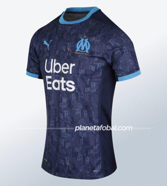 Camiseta suplente Puma del Olympique de Marsella 2020/2021 | Imagen Web Oficial