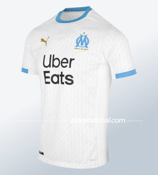 Camiseta titular Puma del Olympique de Marsella 2020/2021 | Imagen Web Oficial