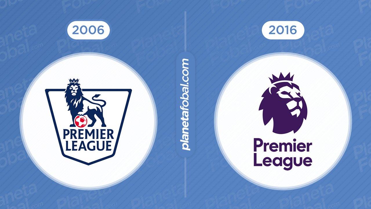 Antes y después Premier League de Inglaterra