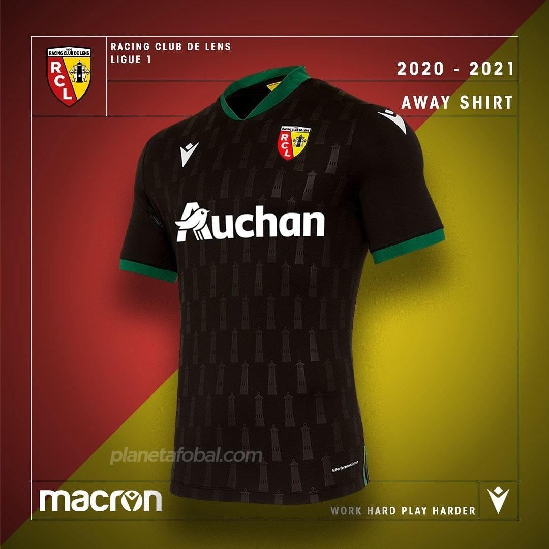 Camiseta suplente del RC Lens 2020/21 | Imagen Macron