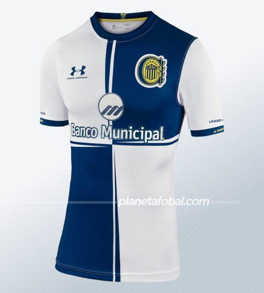 """Camiseta de Rosario Central """"130 Aniversario""""   Imagen Under Armour"""