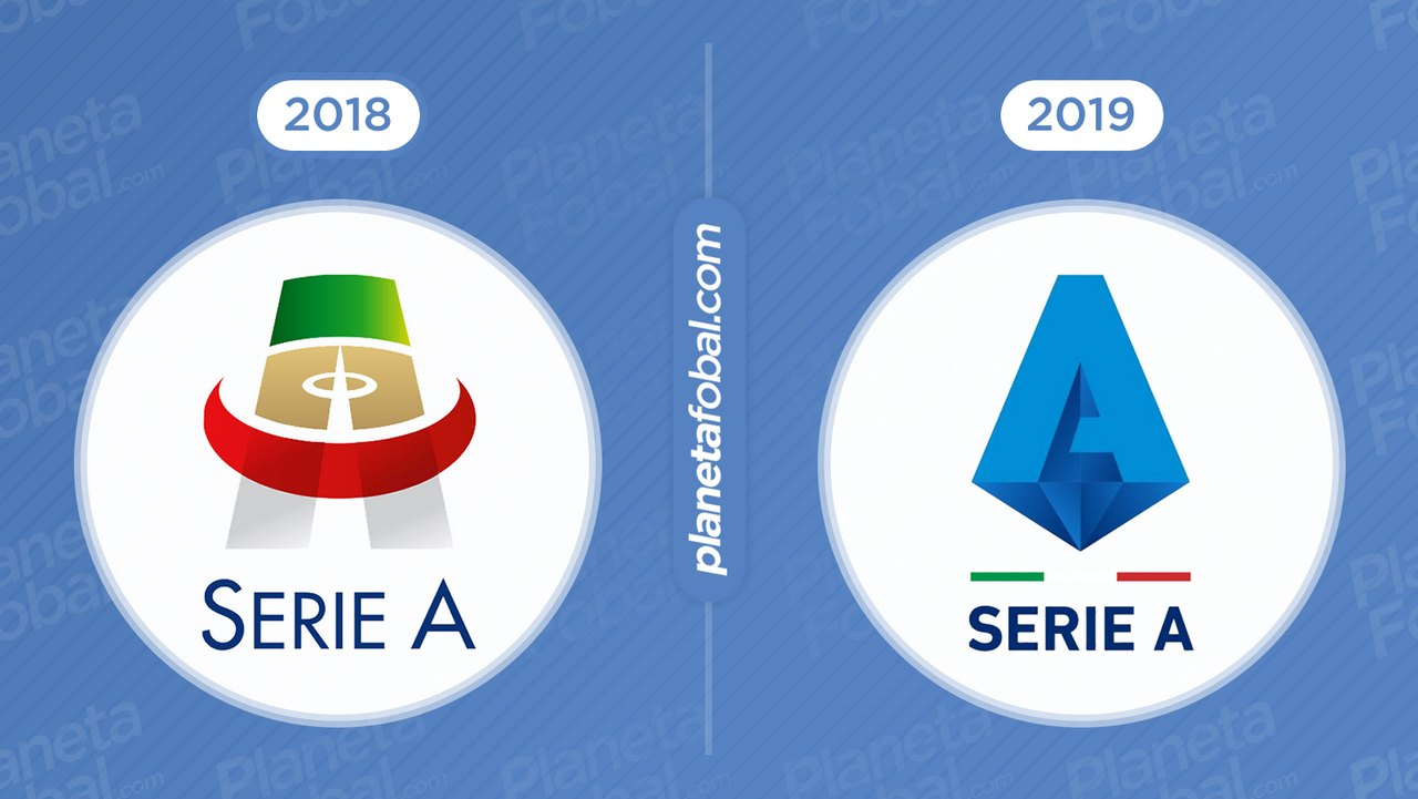 Antes y después Serie A de Italia
