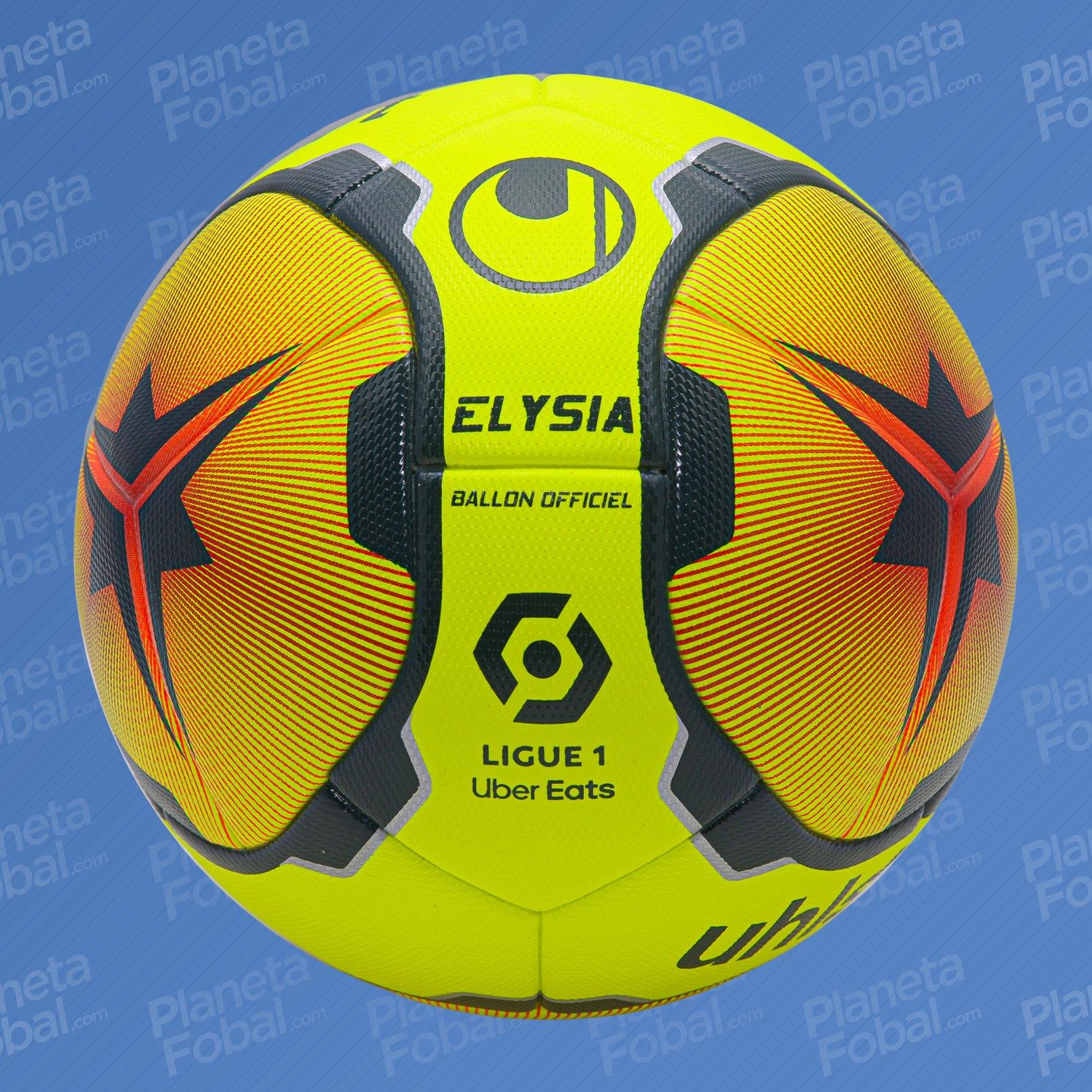 Balón Uhlsport «Elysia» Ligue 1 2020/21 | Imagen LFP