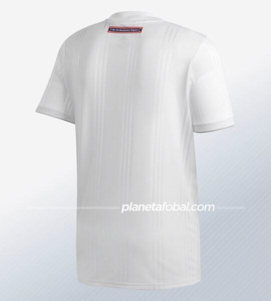 Camiseta visita de la Universidad de Chile 2020 | Imagen Adidas