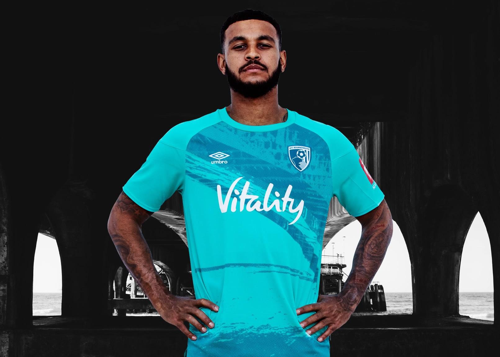 Camiseta suplente Umbro del AFC Bournemouth 2020/21 | Imagen Web Oficial