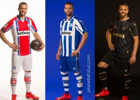 Equipaciones Kelme del Deportivo Alavés 2020/2021 | Imágenes Twitter Oficial