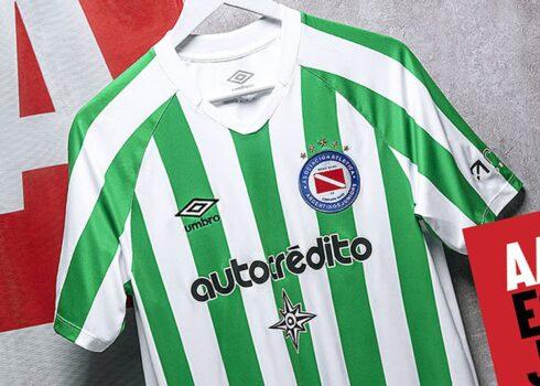 Tercera camiseta de Argentinos Juniors 2020/21 | Imagen Umbro