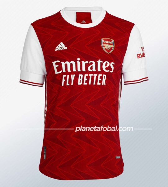 Camiseta Adidas del Arsenal 2020/2021 | Imagen Web Oficial