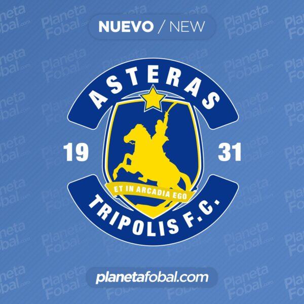 Nuevo escudo del Asteras Tripolis | Imagen Web Oficial