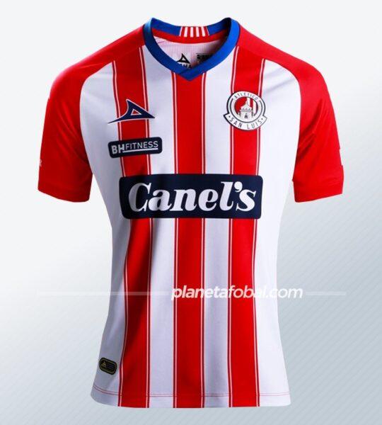 Camiseta local Pirma del Atlético de San Luis 2020/21   Imagen Twitter Oficial