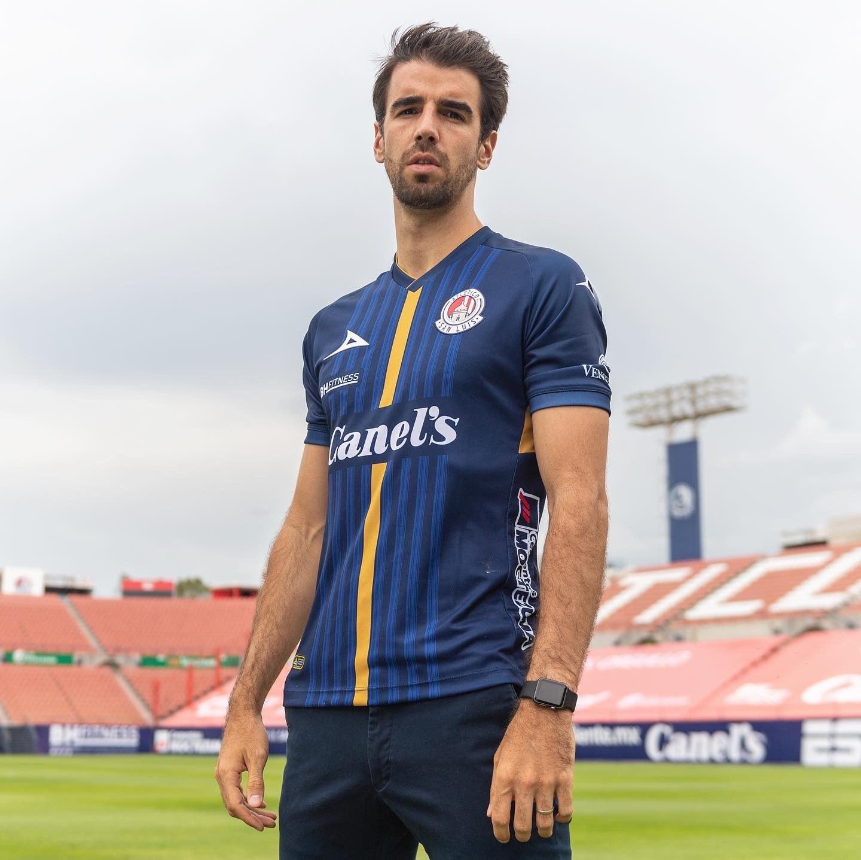 Camisetas Pirma del Atlético de San Luis 2020/21   Imagen Twitter Oficial