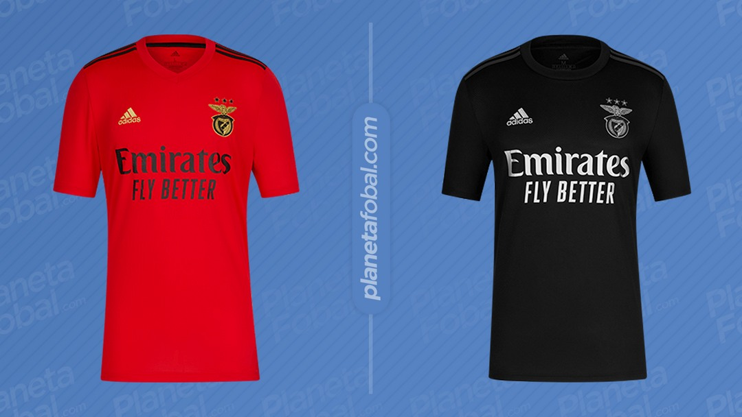 Maillots Adidas Benfica 2020/21 | Image Web officielle