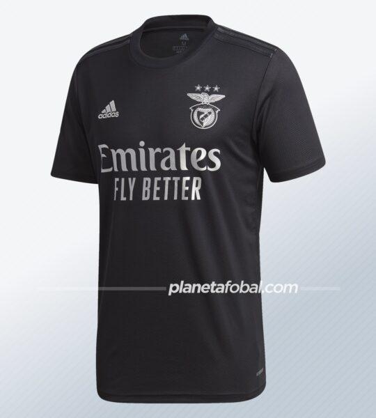 Camiseta suplente del Benfica 2020/21 | Imagen adidas