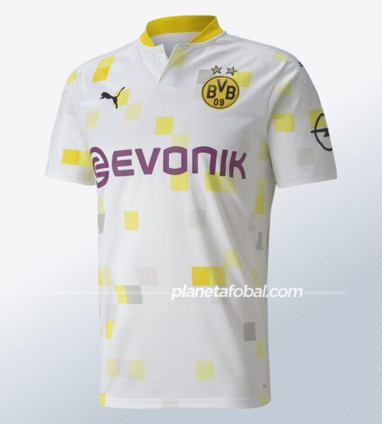 Tercera camiseta Puma del Borussia Dortmund 2020/2021 | Imagen Web Oficial