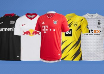 Camisetas de la Bundesliga 2020/2021