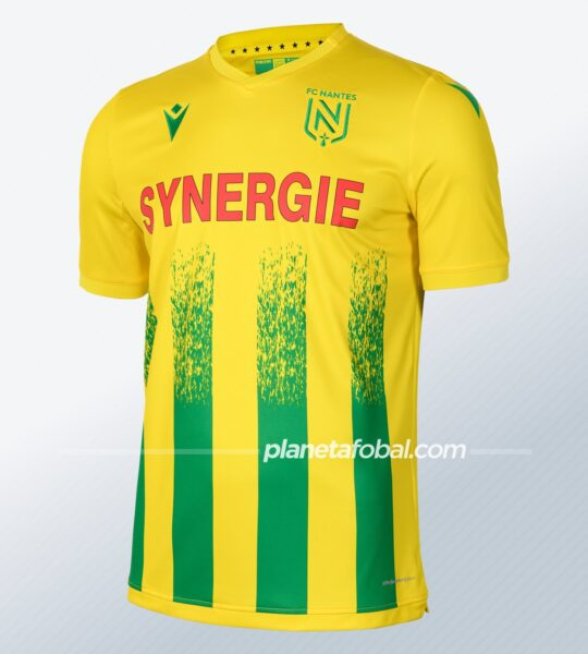 Camiseta titular del FC Nantes 2020/21 | Imagen Web Oficial