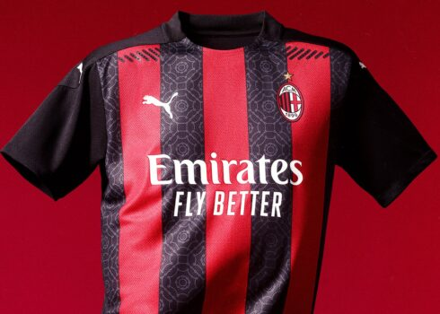 Maillot domicile AC Milan 2020/2021 | Image Puma