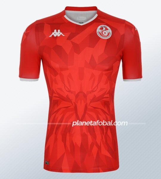 Camiseta suplente de Túnez 2020/21 | Imagen Kappa