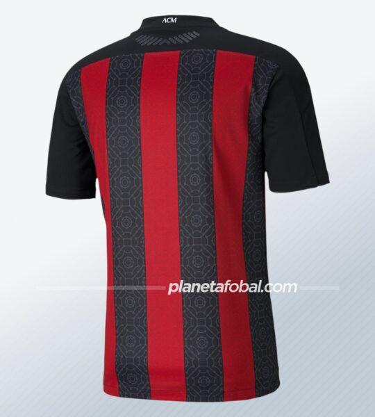 Camiseta titular del AC Milan 2020/2021 | Imagen Puma