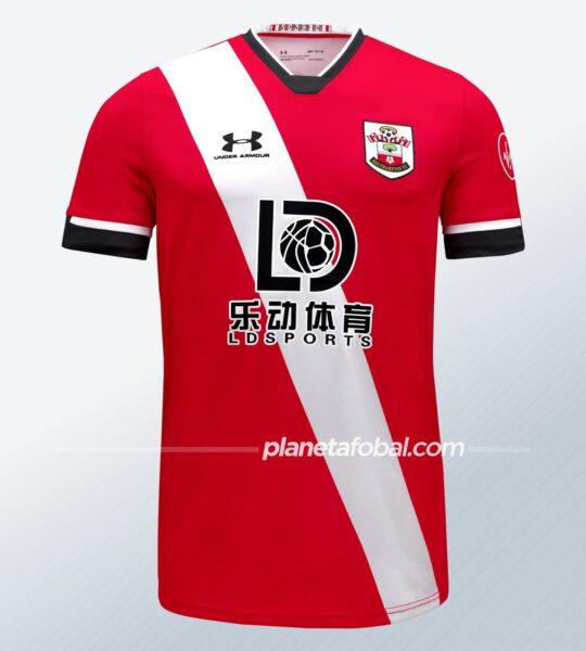 Camiseta titular Under Armour del Southampton FC 2020/21 | Imagen Web Oficial