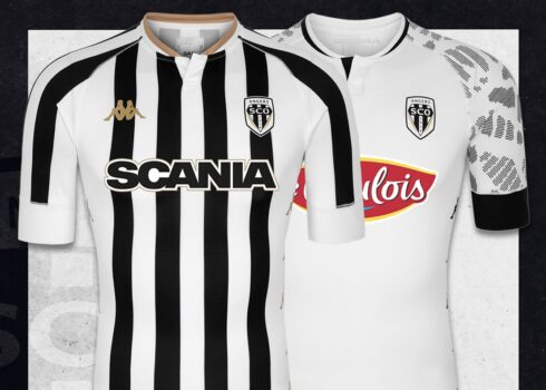 Angers SCO 2020/21 Maillots Kappa | Image Web officielle