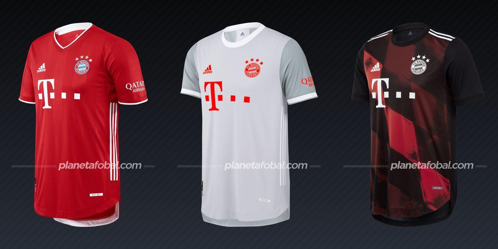Bayern Munich (adidas) | Camisetas de la Bundesliga 2020/2021