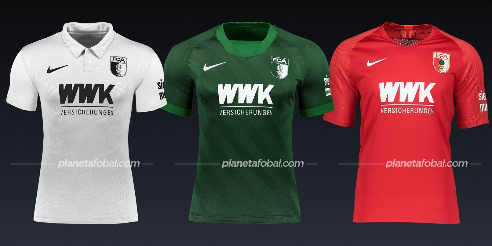 FC Augsburg (Nike) | Camisetas de la Bundesliga 2020/2021
