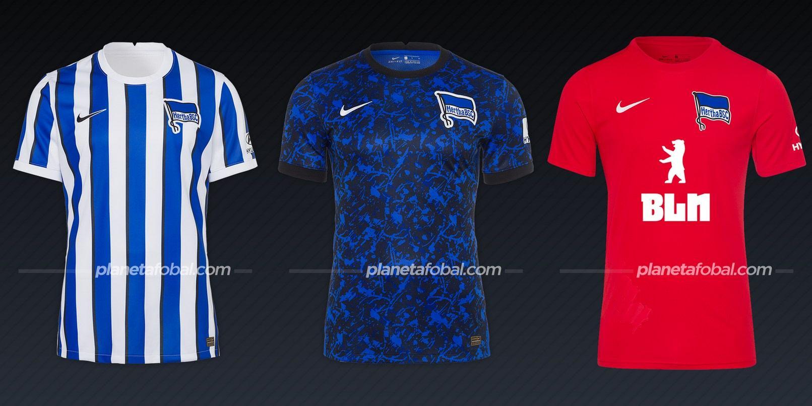 Hertha Berlín (Nike) | Camisetas de la Bundesliga 2020/2021