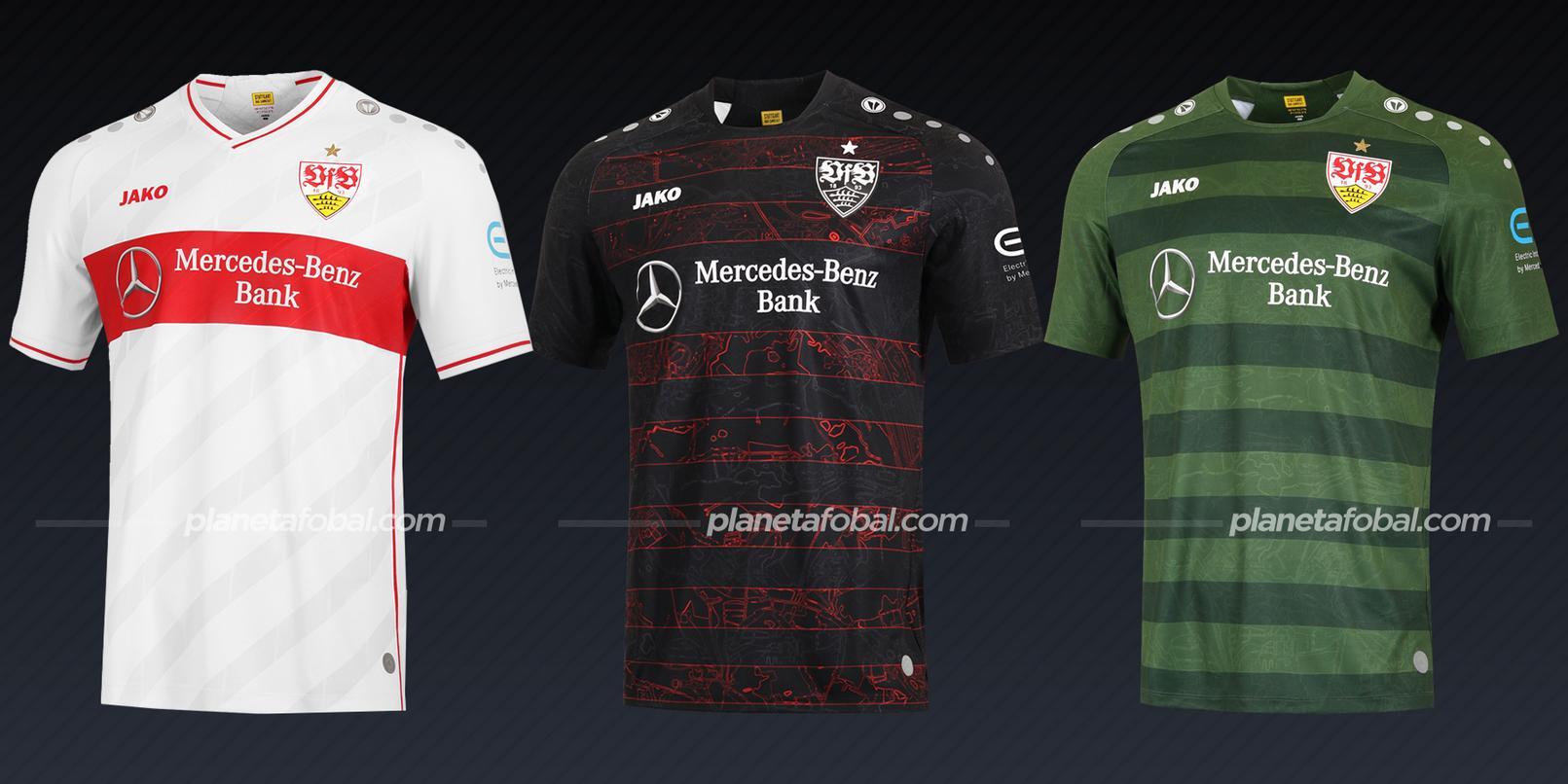 Stuttgart (Jako) | Camisetas de la Bundesliga 2020/2021