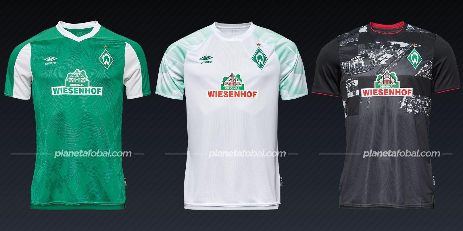 Werder Bremen (Umbro) | Camisetas de la Bundesliga 2020/2021