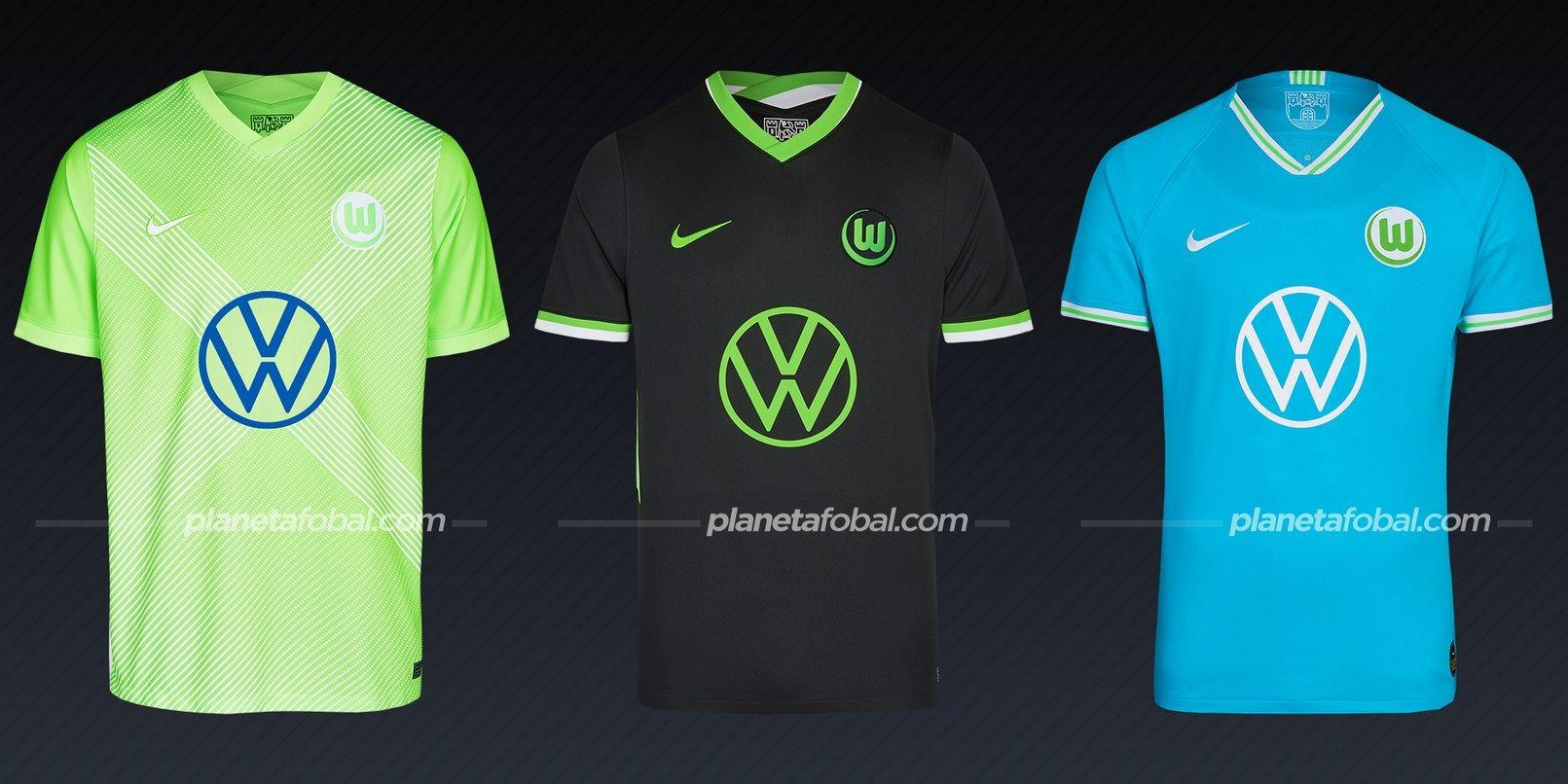 Wolfsburg (Nike) | Camisetas de la Bundesliga 2020/2021